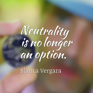 Neutrality is no longer an option