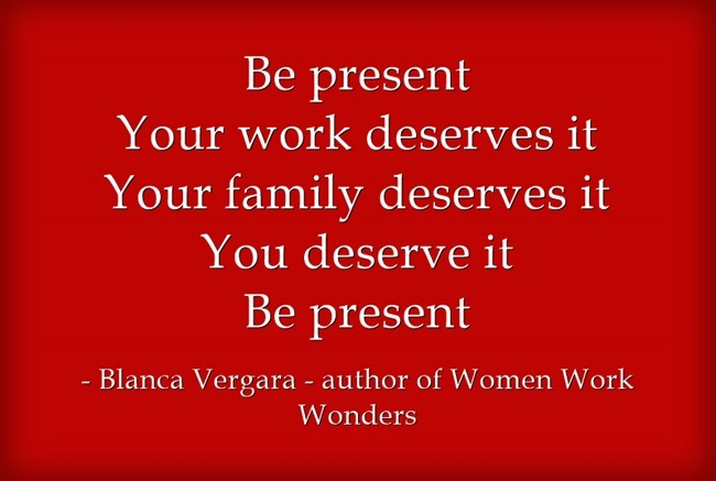 Be-present-Your-work